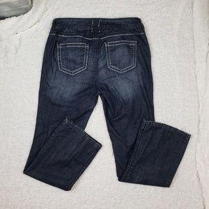 Torrid Dark Wash Straight  Leg Jeans